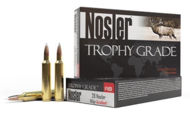 Nosler Trophy Grade Ammunition - 28 Nosler 160 GR Accubond