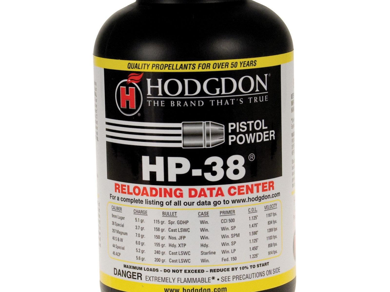 Hodgdon HP38 Powder - 1lbs | Accuracy Plus